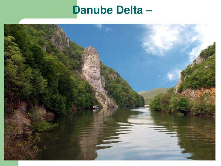Danube Delta –