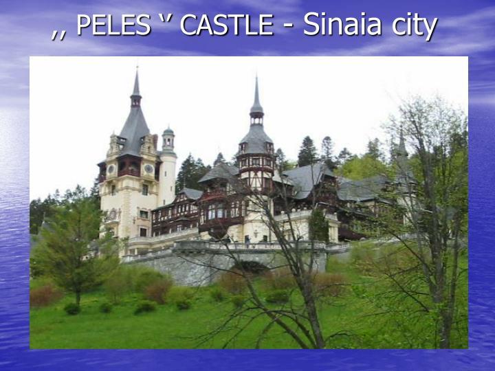 ,, PELES '' CASTLE