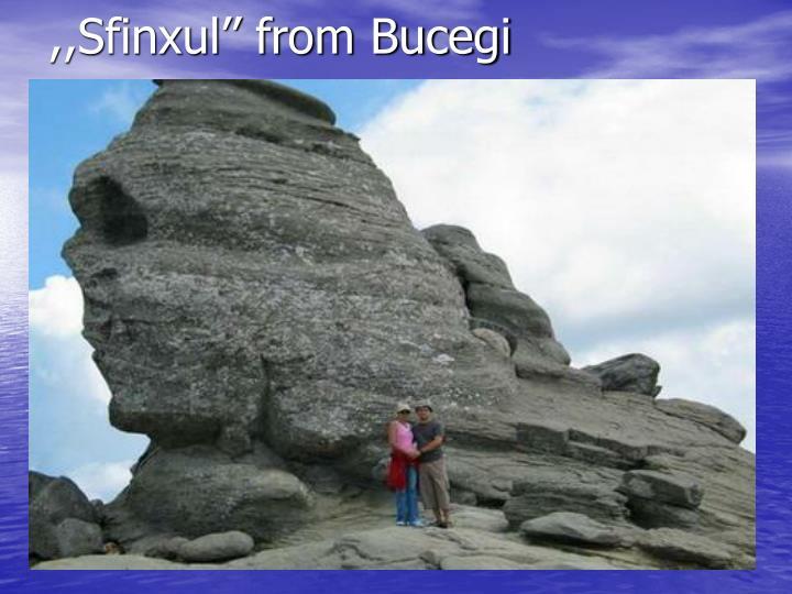 ,,Sfinxul'' from Bucegi