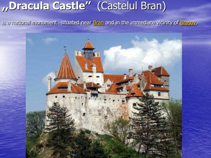 ,,Dracula Castle''