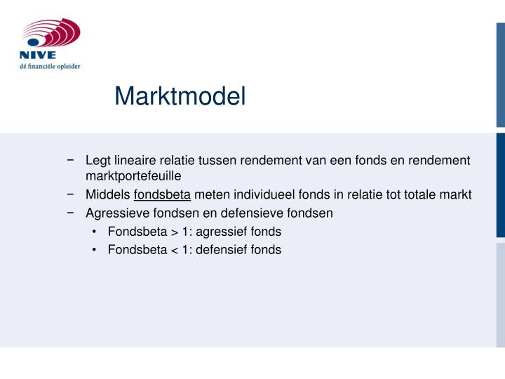 Marktmodel
