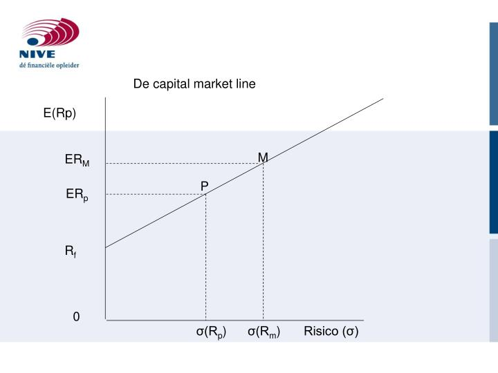 De capital market line