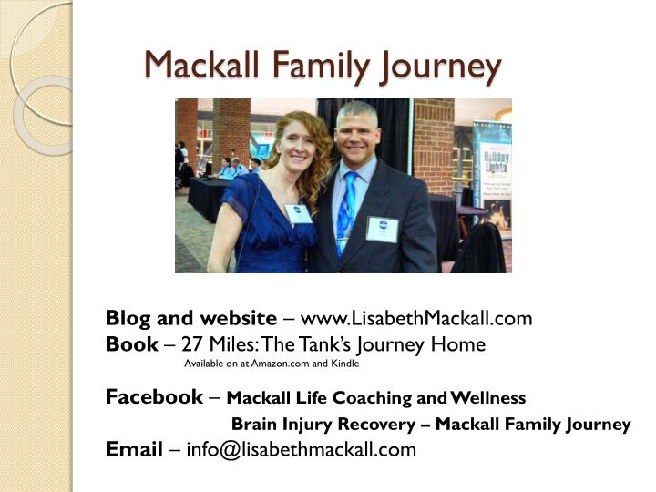 Mackall Family Journey
