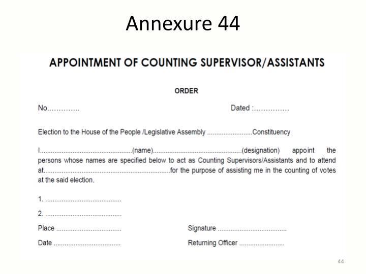 Annexure 44