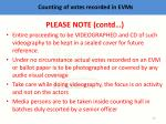 c ounting of votes recorded in evms5