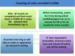 counting of votes recorded in evms2