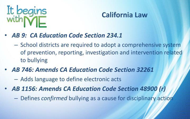California Law