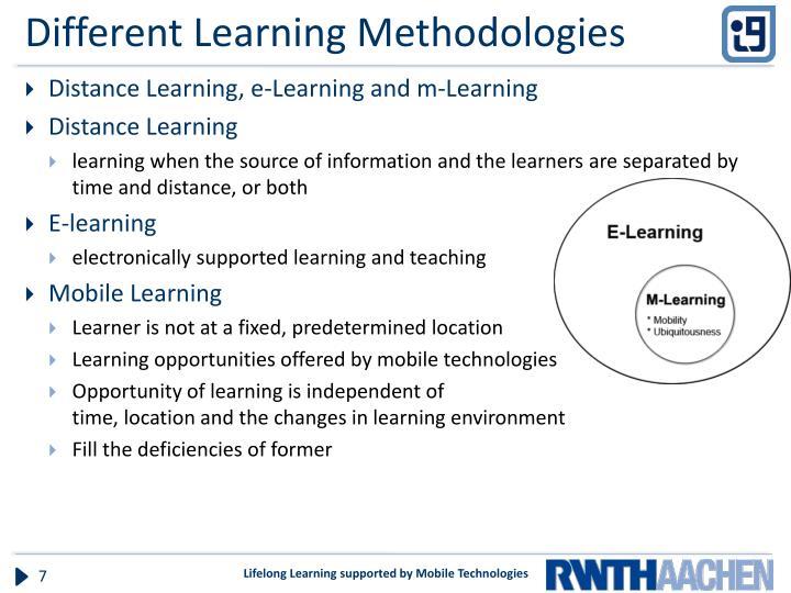 Different Learning Methodologies
