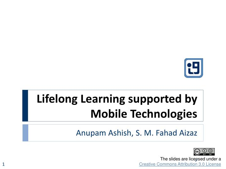 lifelong learning supported by mobile technologies