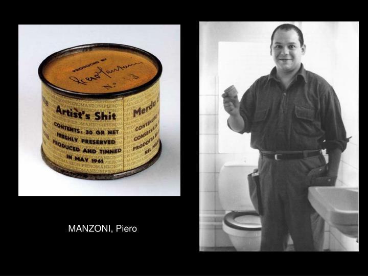 MANZONI, Piero