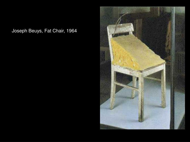 Joseph Beuys, Fat Chair, 1964