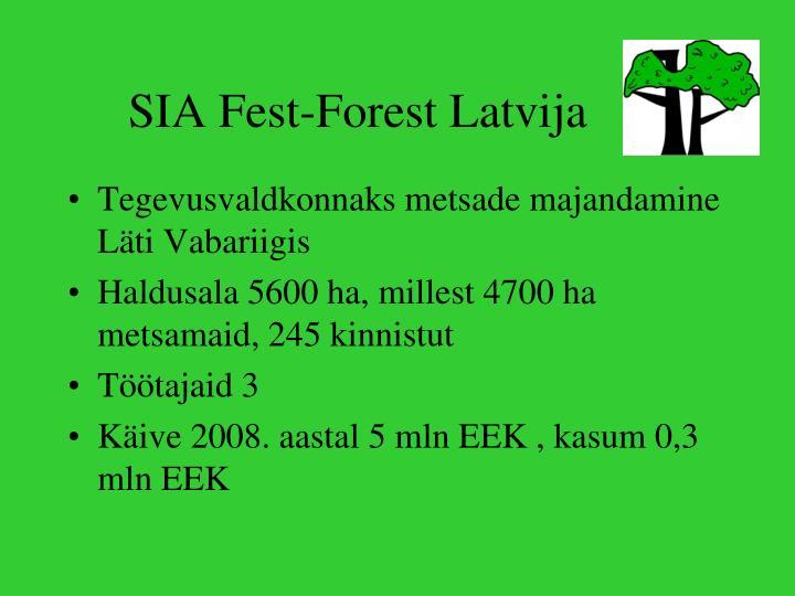 SIA Fest-Forest Latvija
