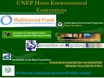unep hosts environmental conventions