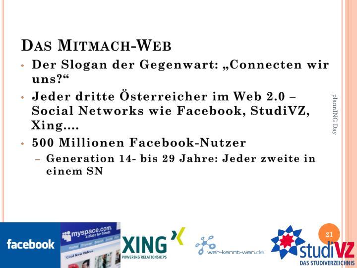 Das Mitmach-Web