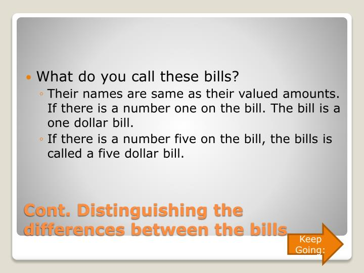 What do you call these bills?