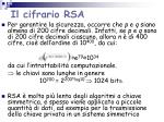 il cifrario rsa1