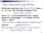one time pad perfetto