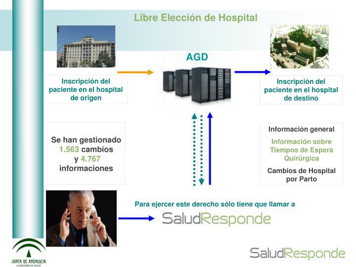 Inscripción del paciente en el hospital de origen