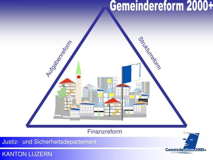 Gemeindereform 2000+