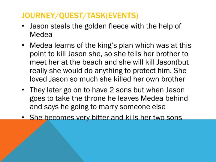 Journey/quest/task(events)