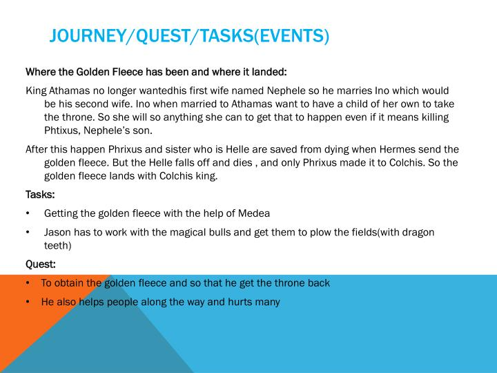 Journey/quest/tasks(events)
