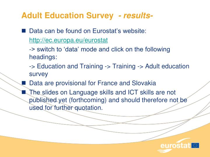 Adult Education Survey