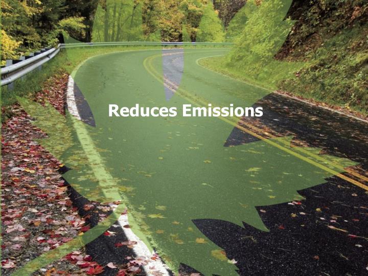 Reduces Emissions