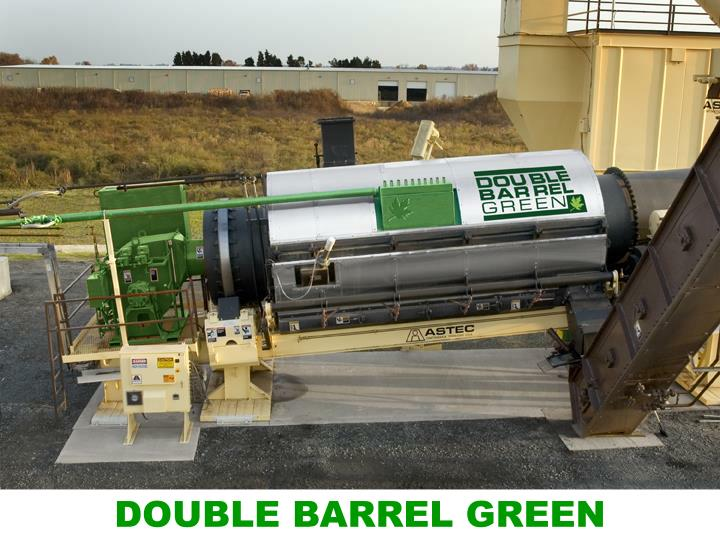 DOUBLE BARREL GREEN