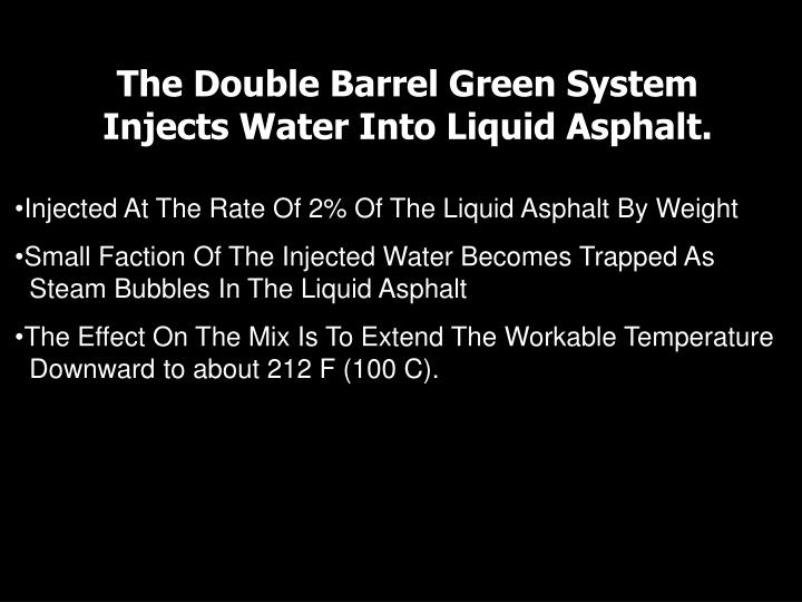The Double Barrel Green System
