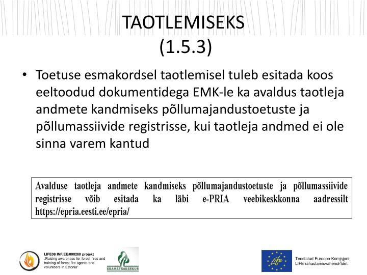 TAOTLEMISEKS