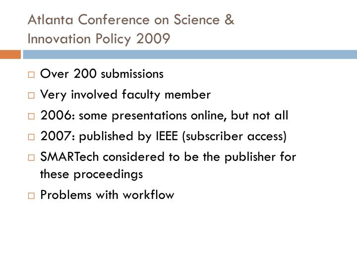 Atlanta Conference on Science