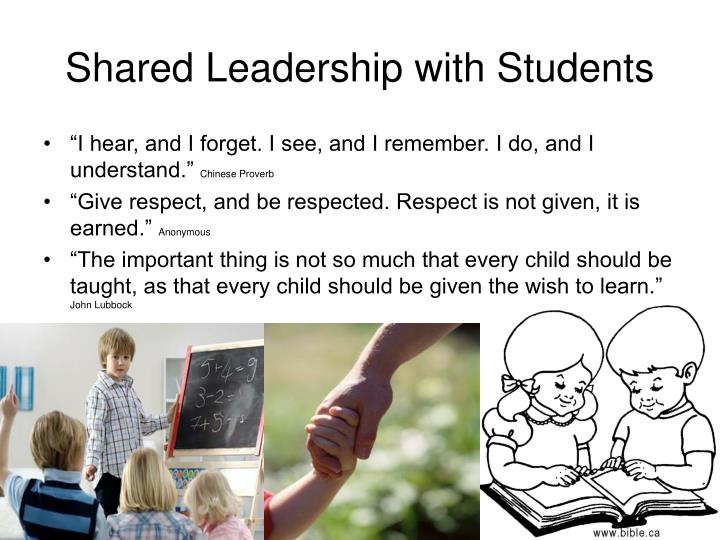 Shared Leadership with Students