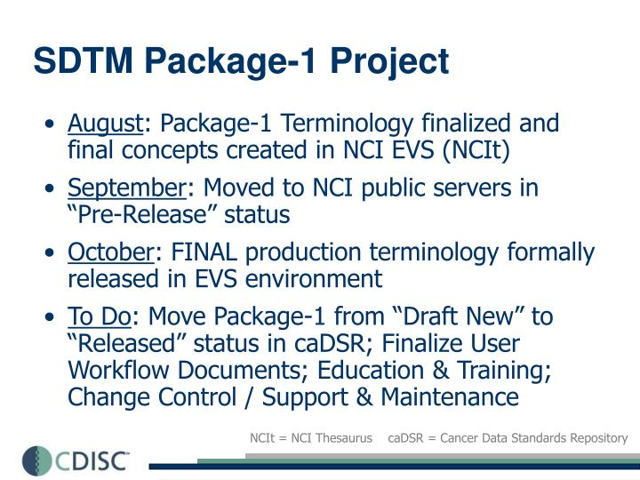 SDTM Package-1 Project
