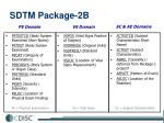 sdtm package 2b