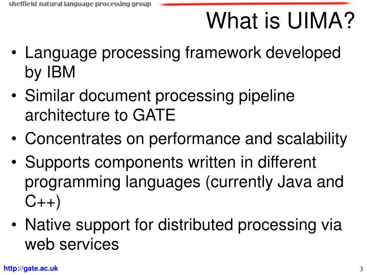 What is UIMA?