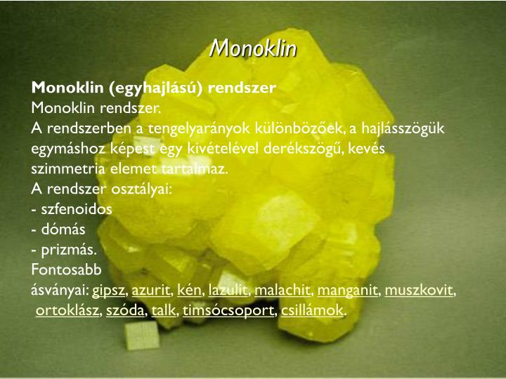 Monoklin
