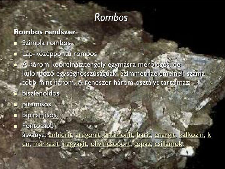 Rombos
