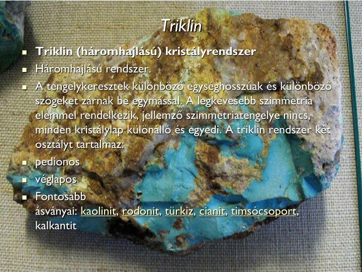 Triklin