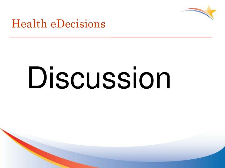 Health eDecisions