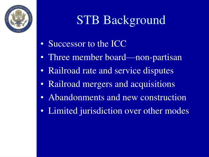 STB Background