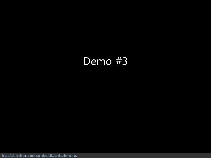 Demo #3