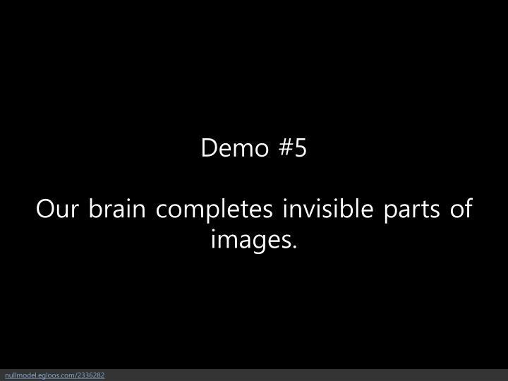 Demo #5