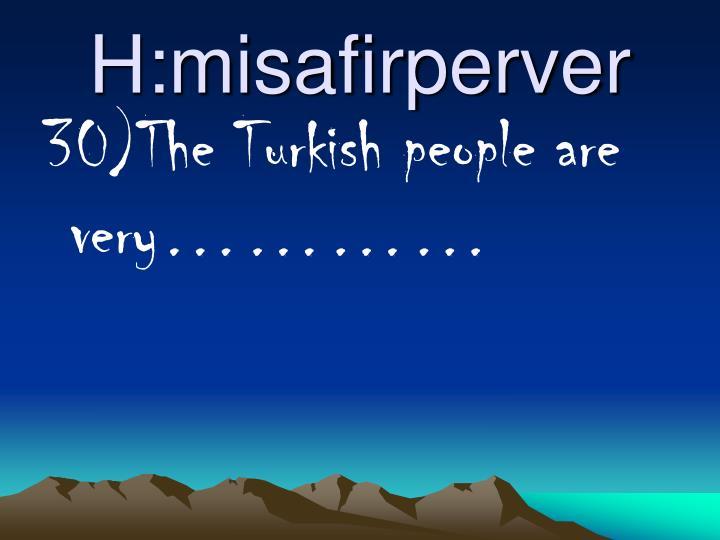 H:misafirperver