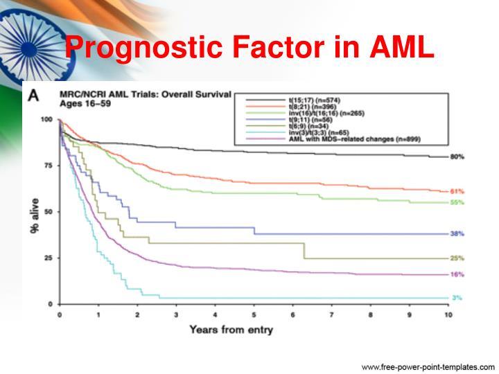 Prognostic Factor in AML