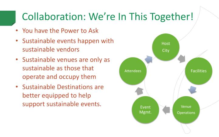 Collaboration: We're In This Together!