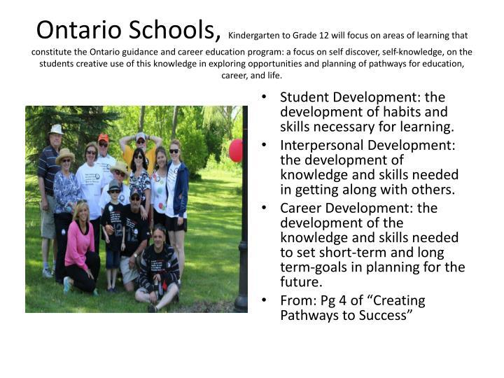 Ontario Schools,
