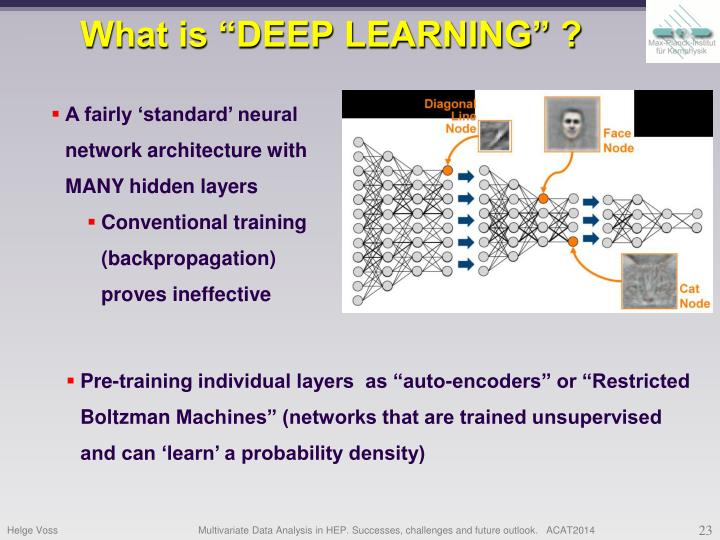 "What is ""DEEP LEARNING"" ?"