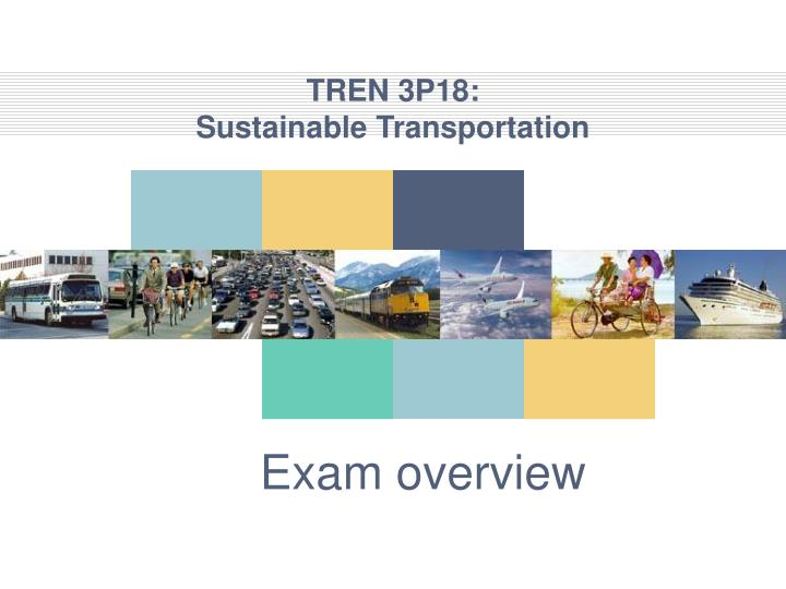 Tren 3p18 sustainable transportation