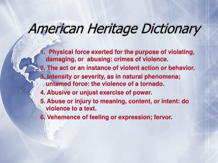 American Heritage Dictionary