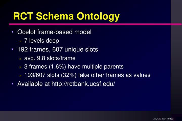 RCT Schema Ontology